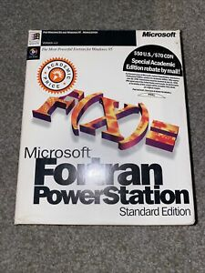 Microsoft Fortran PowerStation Professional Development System 4.0 WIndows 95