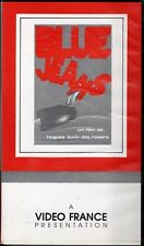 """GILLES BUDIN """"BLUE JEANS"""" VHS 1977 video france"""