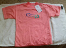 Vêtements t-shirts en polyester avec des motifs Logo pour fille de 2 à 16 ans