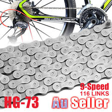 9 Speed Deore 116 Links 105 MTB Bicycle Chain CN-HG73 LX for Bike