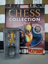 Wolverine #3 White Knight Eaglemoss Marvel Chess Collection Magazine