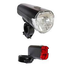 Batterien StVZO Fahrradlicht LED Set Fahrrad Licht Fahrradbeleuchtung inkl