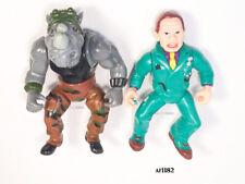 Rocksteady & Dick Tracy Figure Influence Teenage Ninja Turtles Tmnt Figure