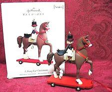 Hallmark 2008 Series Ornament~A Pony For Christmas #11