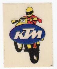 figurina STEMMA MOTOR SHOW BAGGIOLI 1986 NEW numero 57 KTM