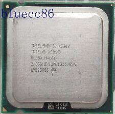 Intel Xeon X3360  LGA 775 2.83 GHz 1333 MHz Quad-Core CPU Processor