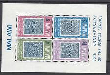 Malawi - Block 6 aus 1966  - postfrisch - Postdienst