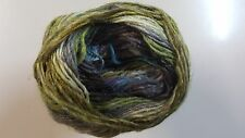 Noro Silk Garden Sock Yarn #S272 Olive Blue Aqua Grey Brown Mix 100g