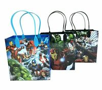 12PC Marvel Avengers Assemble Goody Bags Birthday Party Favors Gift Set Bags