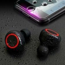 5Core Wireless Earbuds Sweatproof Bluetooth 5.0 TWS In-ear Mic Sea side