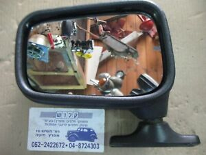 METAGAL MIRROR Left Side Fiat X19, 131,128 ,127 NEW Black Style Brazil Made