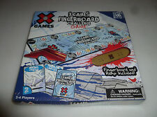 BRAND NEW IN BOX SEALED XGAMES FINGERBOARD CHALLENGE GAME SKATEBOARD & RAMP NIB