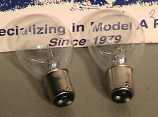 1928-1931 Model A Ford Ratrod Streetrod 12V 50/32 CP Headlight Bulbs. One Pair