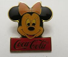 Disney WDW 15th Anniversary Coca-Cola Framed Set Minnie Mouse Pin
