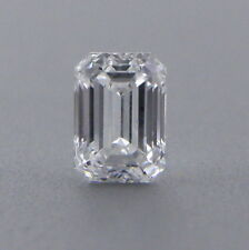 0.15ct EMERALD CUT LOOSE NATURAL DIAMOND F VVS1