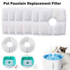 Us Pet Cats Water Fountain Filters Square Round Replacement Filter for Pets Dogs