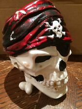 MUST HAVE!! Pirate Ashtray Cigarettes Tobacco Skull Shape smoking decorate gift