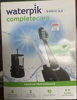 Waterpik WP-862 Complete Care 5.0 Water Flosser and Electric Toothbrush - Black