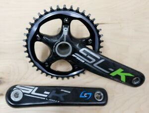 FSA/Stages Power Meter SL-K BB30 Crankset 40t x 172.5mm Carbon Cranks Cyclocross
