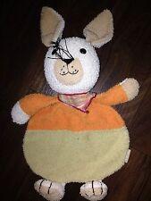 Sterntaler Hase Bunny Frottee Schmusetuch Kuscheltuch Schnuffel Rassel Kopf Hasi