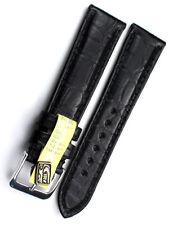 18mm /16 XS KURZ echt ALLIGATOR BAND GERMANY GRAF Louisiana Kroko Uhrband short