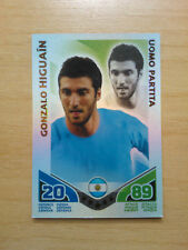 CARD - TOPPS TRADING CARD - MATCH ATTAX  - GONZALO HIGUAIN - ARGENTINA - NUOVA