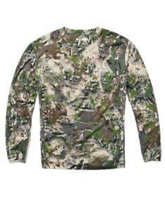 SKRE Camo Kaibab 150 Merino Wool Long Sleeve Shirt - Summit