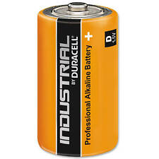 Industrial By Duracell Batteries D Type 1.5V - Pack of 10
