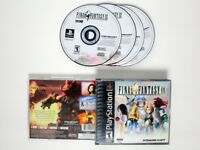 Final Fantasy IX game for Sony Playstation PS1 PSX -Game & Case