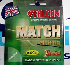 FALCON MATCH SPECIAL FLUORO COATING SINKING 0.200mm 5.600kg 500m MADE IN JAPAN