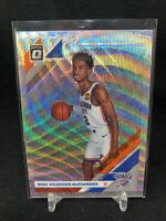 2019 Optic PRIZM Fanatics Shai Gilgeous-Alexander Silver Wave #113 Thunder H43