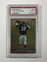 1998 Topps Finest #121 Peyton Manning Rookie RC - PSA MINT 9 - Fast Ship