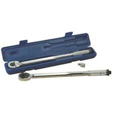 "Kincrome 1/2"" Drive Micrometre Torque Wrench Plastic Blow Mould Case Dual Scale"
