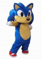 Sonic The Hedgehog Mascots Costume Fancy Dress Cosplay Party game professional