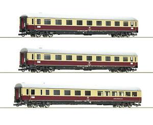 """Roco H0 74072 Wagen-Set 1 """"TEE 74/75 Roland"""" der DB 1:87 - NEU + OVP"""