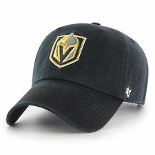 lowest price 30955 ab712 Las Vegas Golden Knights  47 Brand Clean Up Adjustable Hat - Black