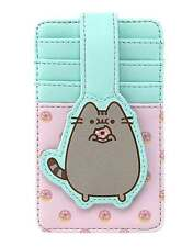 Pusheen Cardholder Big Kitty Donuts Logo Official Loungefly