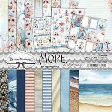 Scrapbooking paper 12x12 pad 12 sheets Sea, I missed