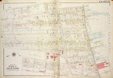 1917 RICHMOND STATEN ISLAND NY PLEASANT PLAINS PS 3 AMBOY RD-MANEE AV ATLAS MAP
