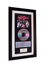 ROXY MUSIC Manifesto CLASSIC CD Album GALLERY QUALITY FRAMED+EXPRESS GLOBAL SHIP