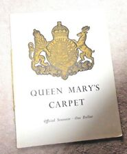 QUEEN MARY'S CARPET PRINCE CHARLES AS A BABY STORY OF THE CARPET BRITISH 1950