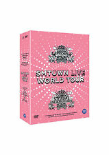 SMTOWN - LIVE WORLD TOUR IN SEOUL DVD(EXO,SUPER JUNIOR,SNSD,SHINee...)+Photobook