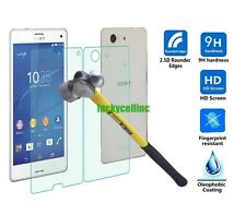 Front + Back Temper Tempered Glass Film Screen Protector Guard Sony Xperia Z3