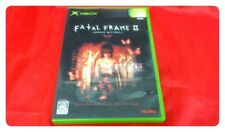 USED Fatal Frame2 Crimson Butterfly Xbox Tecmo Horror game F/S Japan