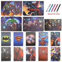 For 7 Inch Tablet Cover Case Buckle Leather Stand Folio Flip Universal Superman