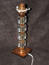 lamp table glass copper Bauhaus Art Deco modernist mid century light retro old