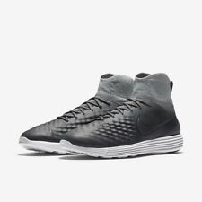 NIKE LUNAR MAGISTA II FK FLYKNIT SOCCER SHOES MEN'S SIZE US 10 GREY 852614-002