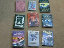 ANNE McCAFFREY--9 BOOKS
