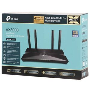 TP-LINK Archer AX3000 ( AX50 ) Dual-Band Wi-Fi 6 Router NEW