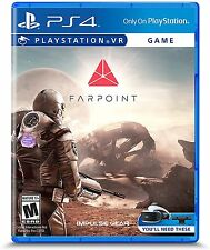 NEW Farpoint (Sony PlayStation 4, 2017)